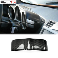 EPR Car Accessories For Nissan 350Z Z33 Carbon Fiber Dial Dash Cover Fibre Glossy Interior Trim Racing Garnish Body Kit