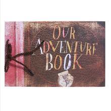 10inch 40 sheets Commemorative Photo Albums Our Adventure Scrapbooking Album Story Book DIY Handmade Loose-leaf Kid's Album