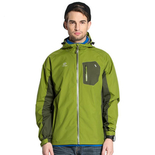 Jacket Men Softshell Waterproof Windproof Camping Hiking Hunting Outdoor  Fleece Mountain Clothes Plus Polyester Green Blue Red