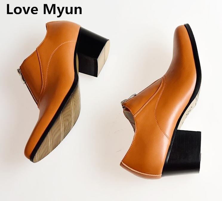 Ayakk.'ten Resmi Ayakkabılar'de Yeni yüksek topuklu erkek hakiki deri kariyer iş ayakkabısı erkekler sivri burun yükseklik artış moda düğün ayakkabı beyaz siyah kahverengi'da  Grup 1