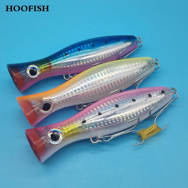 3pcs/lot 40g/12.5cm 4colors  hard lure Bionics big popper Super good quality hard bait  fishing lure good hard