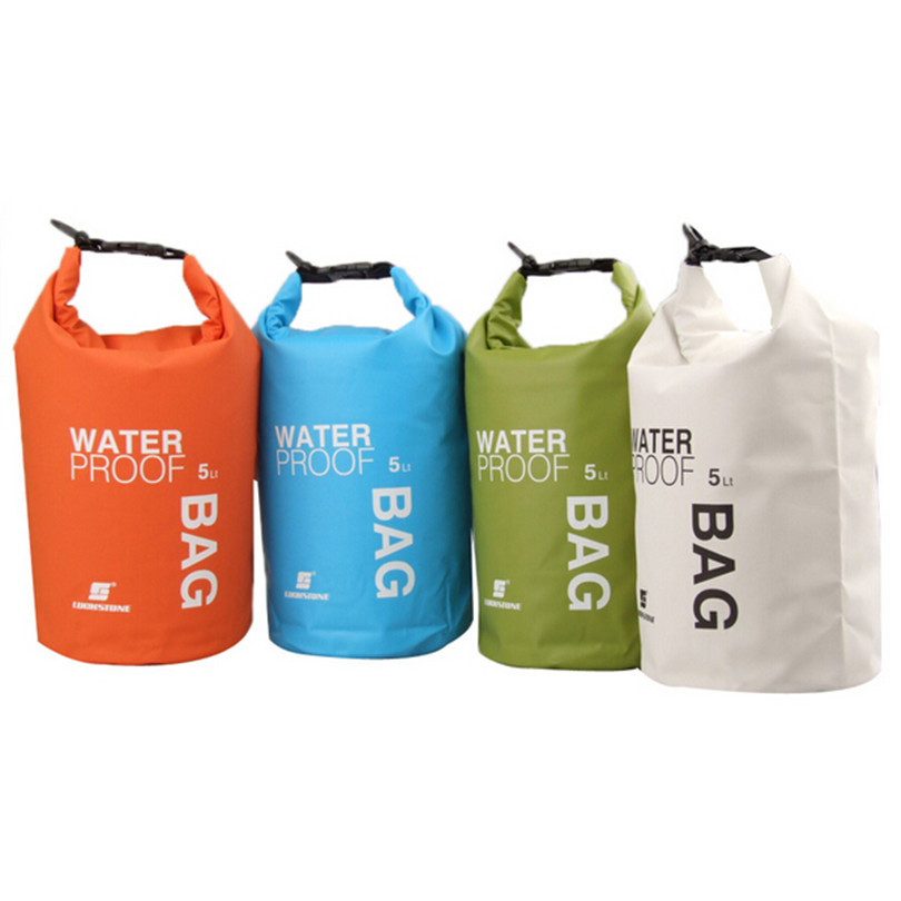 2L 5L 10L Ultralight Portable Outdoor Tools Rafting Waterproof Dry Bag Swim Storage Camping Equipment Swimming Waterproof Bags