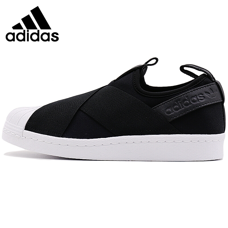 Original New Arrival  Adidas Originals SUPERSTAR SlipOn Unisex Skateboarding Shoes Sneakers