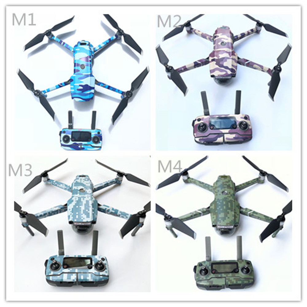 FOR DJI Mavic 2 Sticker Mavic 2 PRO/ZOOM Body Stickers Full Set Of Film Waterproof Sunscreen Protection Drone Accessories