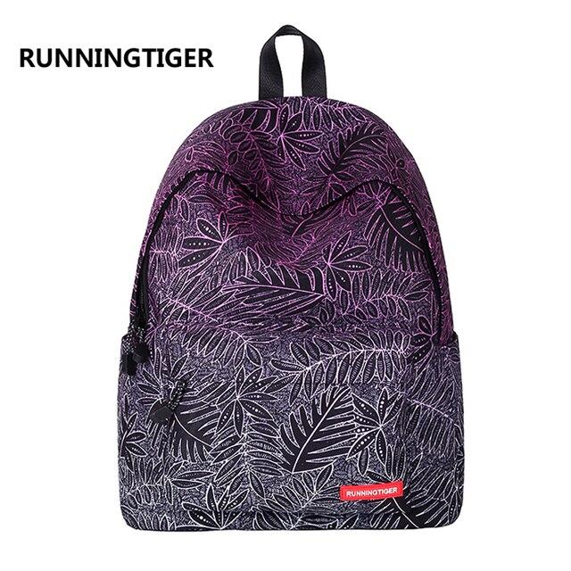 Children school bags Canvas Women backpack fashion bag School Bags For  Teenagers Printing Backpacks For Girls Mochila Escolar 16f48da58771d