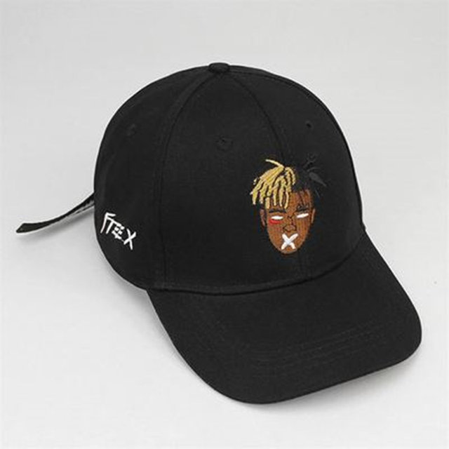 5c004931f04 High quality cotton singer xxxtentacion Dreadlocks Snapback Cap for men  women Hip Hop dad hat Bone