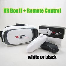 VR Box 2 Virtual Reality Cardboard 3D Video Glasses Google Cardboard with Bluetooth Remote Control for iPhone Samsung LG Huawei