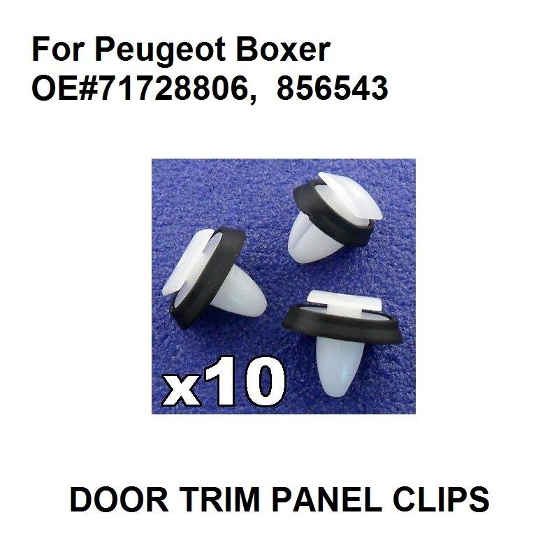 PEUGEOT DOOR SIDE MOULDING CLIPS TRIM STRIP WHEEL ARCH RUBBING STRIP