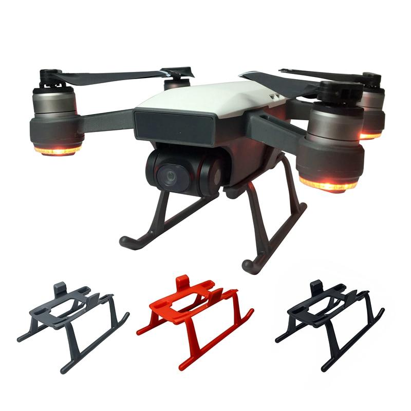 DJI Funken Fahrwerk Kits 3 cm Höhe Extender Beine für Funken Drone Licht Gewicht Quick Release Füße Schutz Teile protector
