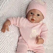 22 pouce 55 cm silicone reborn bébé handdecorated juguetes brinquedo poupée reborn bebes jouets realista bonecas