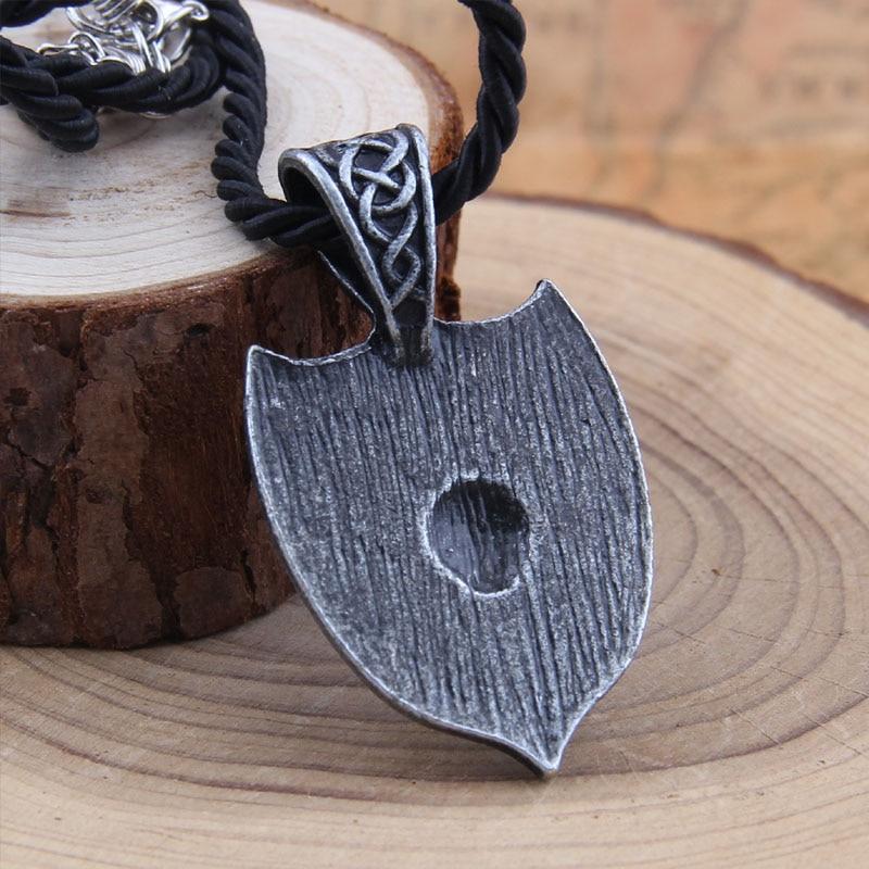 Yage 1pcs θρυλικό Viking Aegishjalmur κολιέ - Κοσμήματα μόδας - Φωτογραφία 6