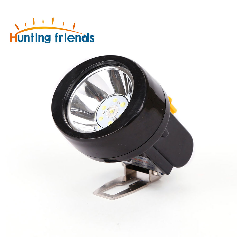 Hunting Friends Rechargeable Cap Mining Light Waterproof LED Miner Lamp Explosion Roof Headlight for Outdoor Professional Works