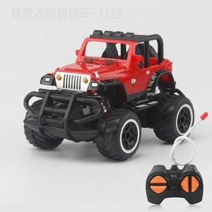 Image 3 - Neue Sport Wissenschaft 1:32 kinder Spielzeug Auto Fernbedienung Auto Modell 3C Elektro Off road Fahrzeug Pädagogisches Jungen und Mädchen Spielzeug