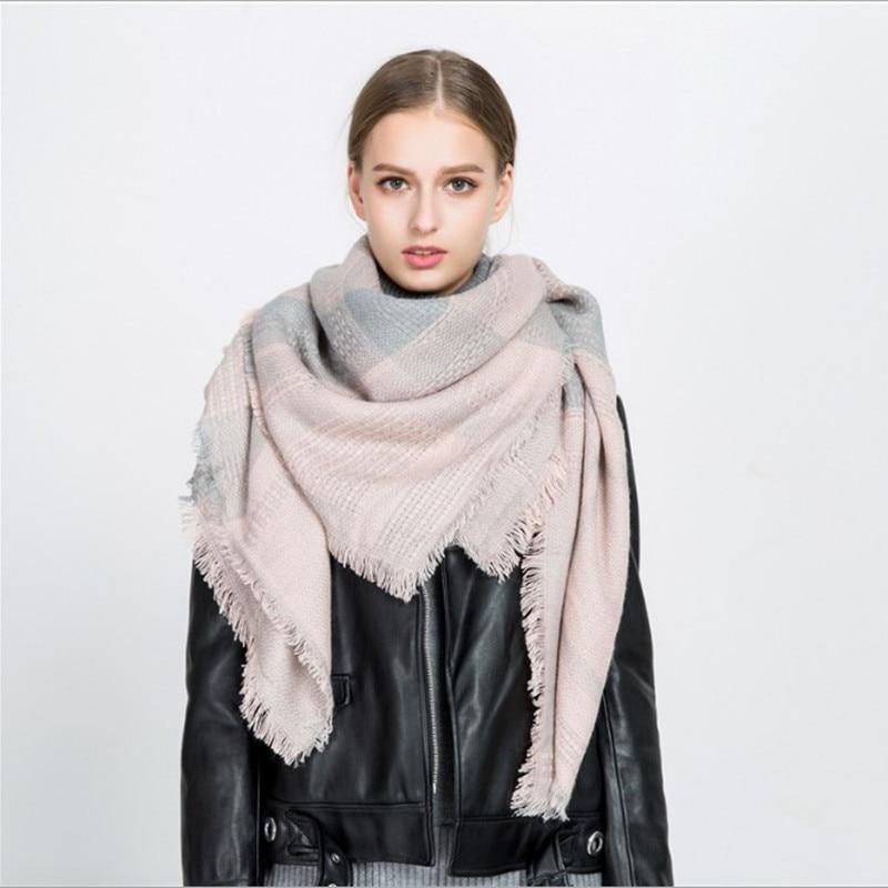 Зима Люксовый Бренд Шарф Женщины - Аксессуары для одежды - Фотография 3