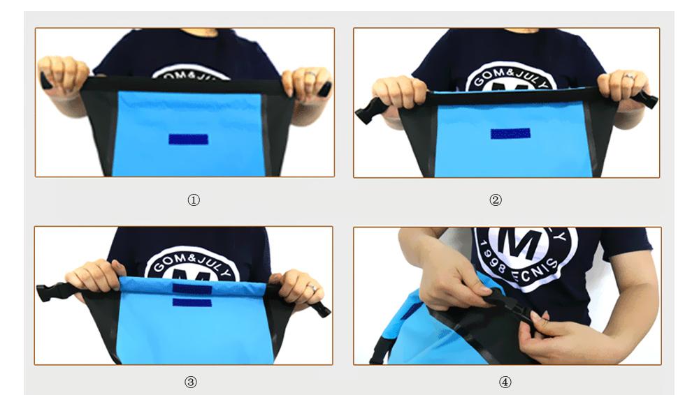 107a5075c41c 25L Waterproof Dry Bag Backpack Rucksack Storage Pack For Swimming ...