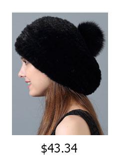 Genuino Cappello Di Pelliccia di Visone per Le Donne Genuino di ... e5ab3668a7fc