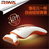 Wet & Dry 3 in 1 Floating Head Battery epilator shaver for Women's electric bikini shaver female and lady shaving knife