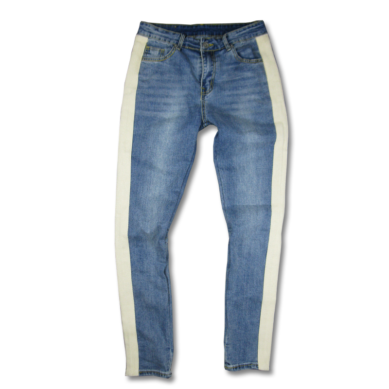 Cool Blue Rock Star Jeans For Men