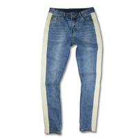 2018 New Arrivals fashion mens jeans pants cool blue jogger damage jeans rock star High Quality Casual skinny jeans For Men