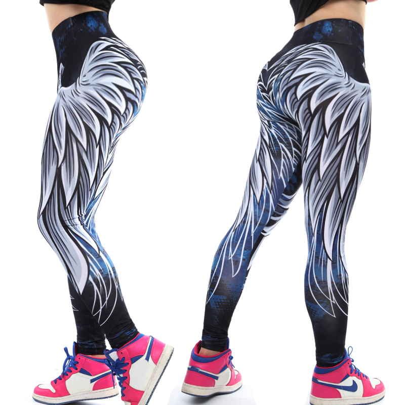 FITTOO 3D wing   leggings   for women 2019 push up sporting fitness   legging   athleisure bodybuilding sexy women's pants Drop Shipping