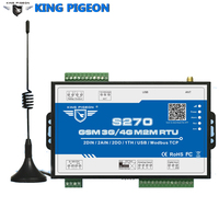 Wireless GSM Telemetry Remote Control 3G S270 GPRS 200 Record SCADA SMS Alarm 2 DIN 2AIN