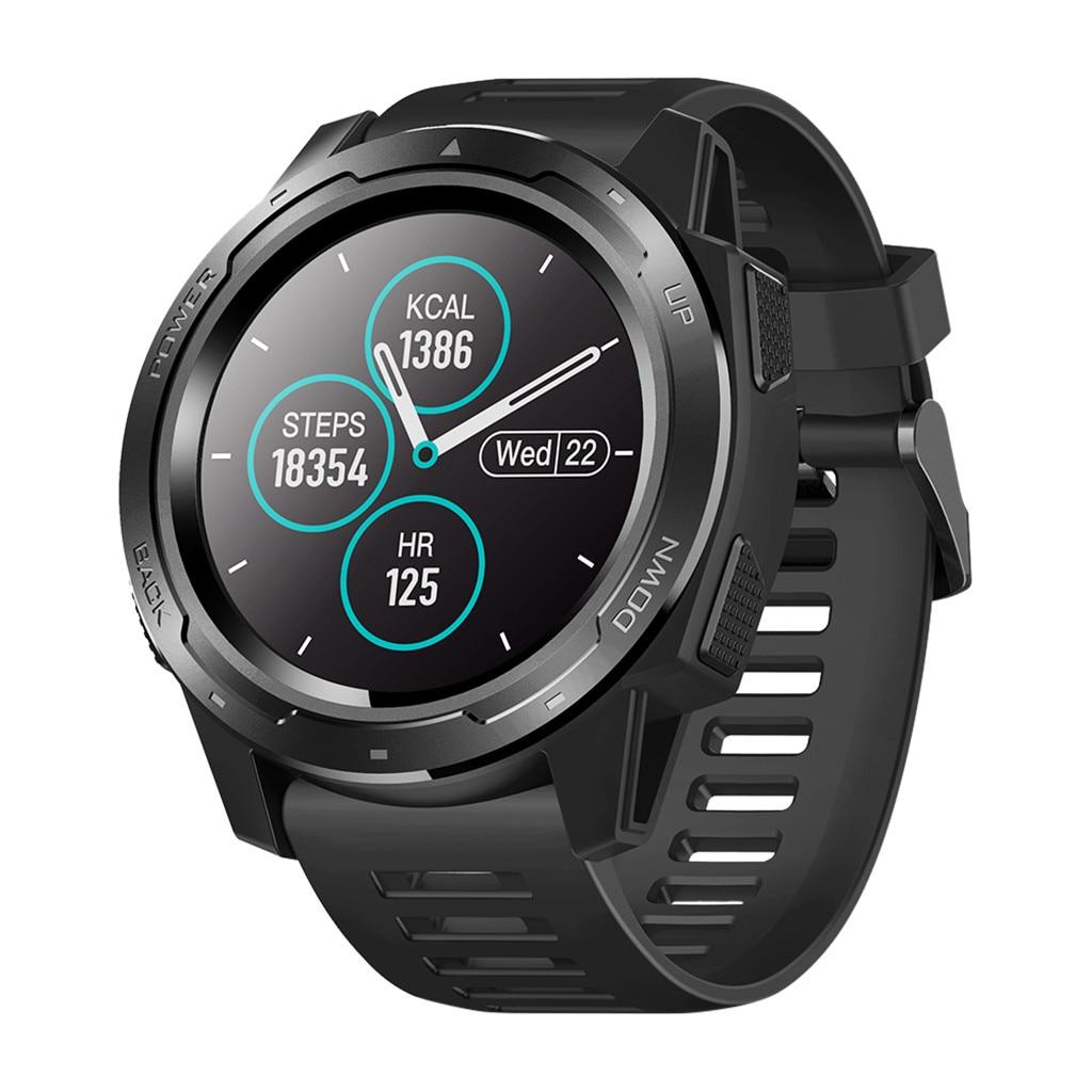 Montre sport intelligente Bluetooth 4.0 IP67 étanche rappel de Message d'appel moniteur de fréquence cardiaque pratique pression artérielle PK Garmin