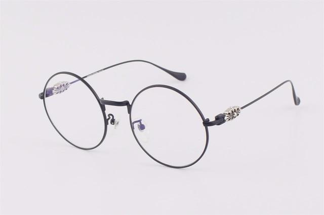 8bc0e22a7dae 2017 New fashion vintage round eyeglasses frames SSW women optical metal  eyewear frame luxury brand can be myopia glasses. Price