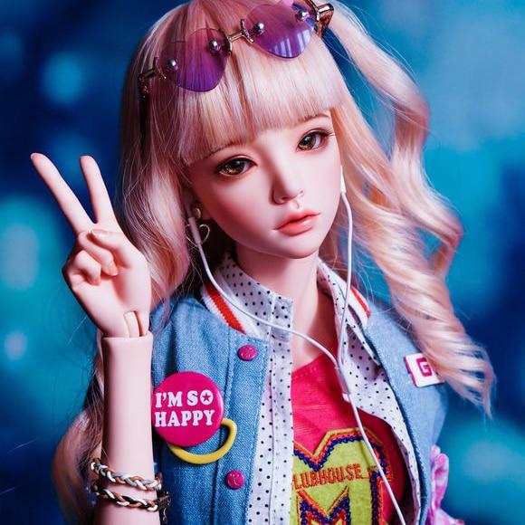 Шарнирная кукла 1/4 девушка Мари шарнирная кукла подарок на день рождения
