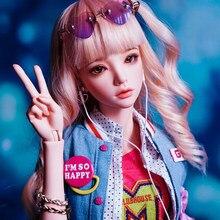 Boneca bjd boneca 1/4 menina mari conjunta boneca presente de aniversário