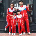 Fashion Family sport clothing set Mom and daughter Dad Son mother family matching clothes outfits school uniform teacher suit