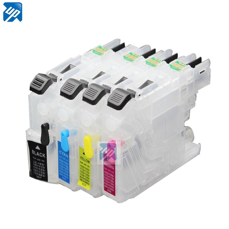 Lc131 LC133 многоразового картридж для brother DCP-J152W J552W J752W J172W DCP-J4110DW MFC-J870DW J650DW J470DW принтер