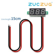 0,28 дюймов 2,5 V-30 V Мини цифровой вольтметр Напряжение метр тестер светодиодный Экран электронный Запчасти аксессуары Цифровой вольтметр
