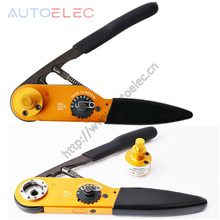 AT M300 Solid Barrel Universal Four core shaf Aviation UH4 C0001 Cable Crimper Aviation Hand Tools