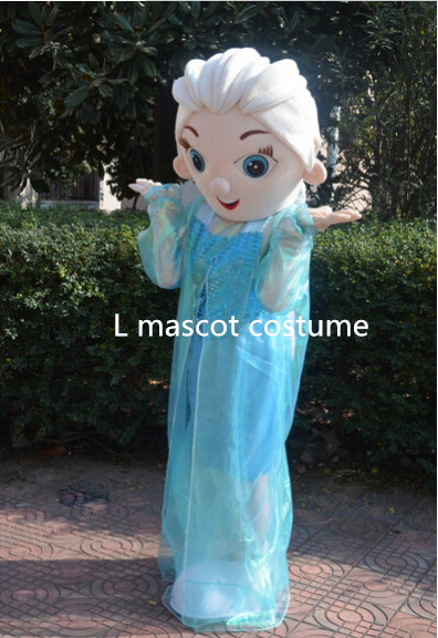 2016 revidovaná verze nejprodávanější krásná princezna elsa - Kostýmy