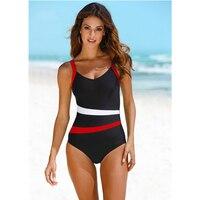 LI FI 2019 Sexy One Piece Swimsuit Female Backless Bodysuit Brazilian Monokini Swimwear Women Bathing Suit Swimming Beach Wear