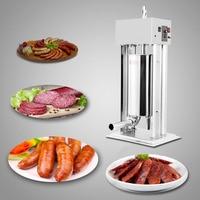 Venda quente elétrica Hidráulica sausage filler/stuffer salsicha do vácuo/rapid linguiça filler|Peças p/ aquecedor de água da bomba de calor| |  -