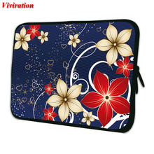 "For Amazon Kindle Ipad Mini 7"" Tablet Cover Universal 7.9 7.7 Inch Tablet Bags 8"" Tablet Case Tablet PC Women Flower Fashion Bag(China)"