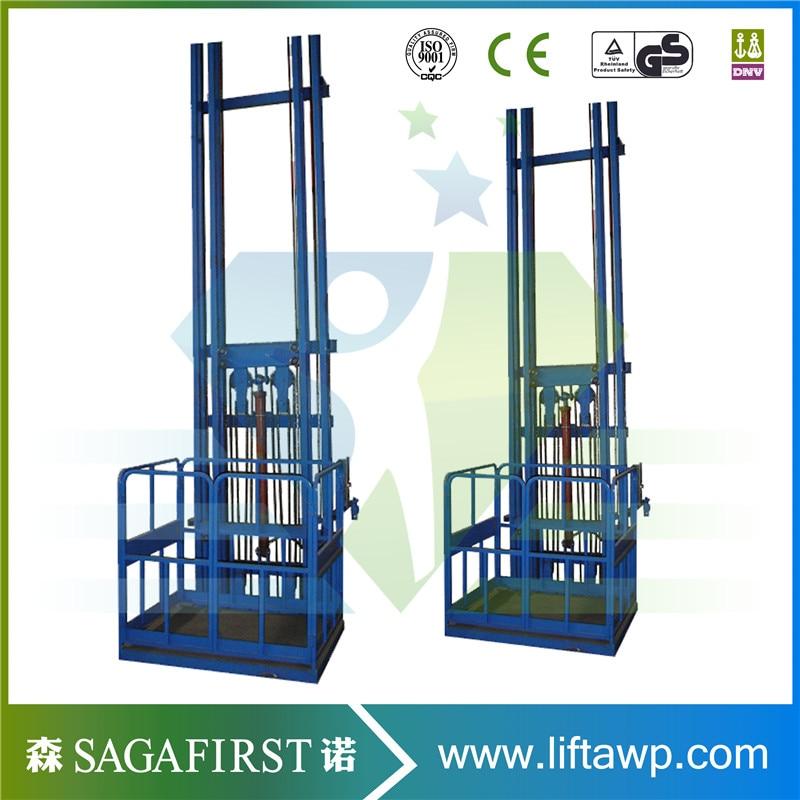 Warehouse Freight Elevator Platform Vertical Hydraulic Cargo Lift Goods Lift
