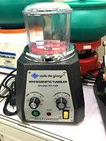 0.4KG Mini Magnetic Tumblers, Retail Jewelry Polishing Machine, Jewelry Tools, Metal Polishing Tumbling Tools