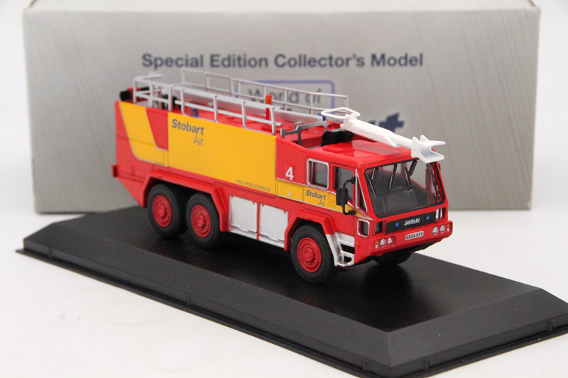 Atlas 1:76 Eddie Stobart Air Javelin Fire Tender 4 Car Diecast Models Collection