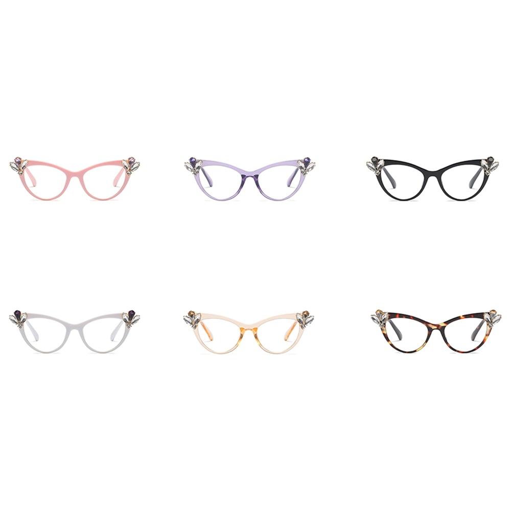 1f6fdecd0db Kachawoo luxury rhinestone cat eye glasses women 2019 decoration sexy  beautiful eyeglasses frame women gift items for ladies-in Eyewear Frames  from Apparel ...