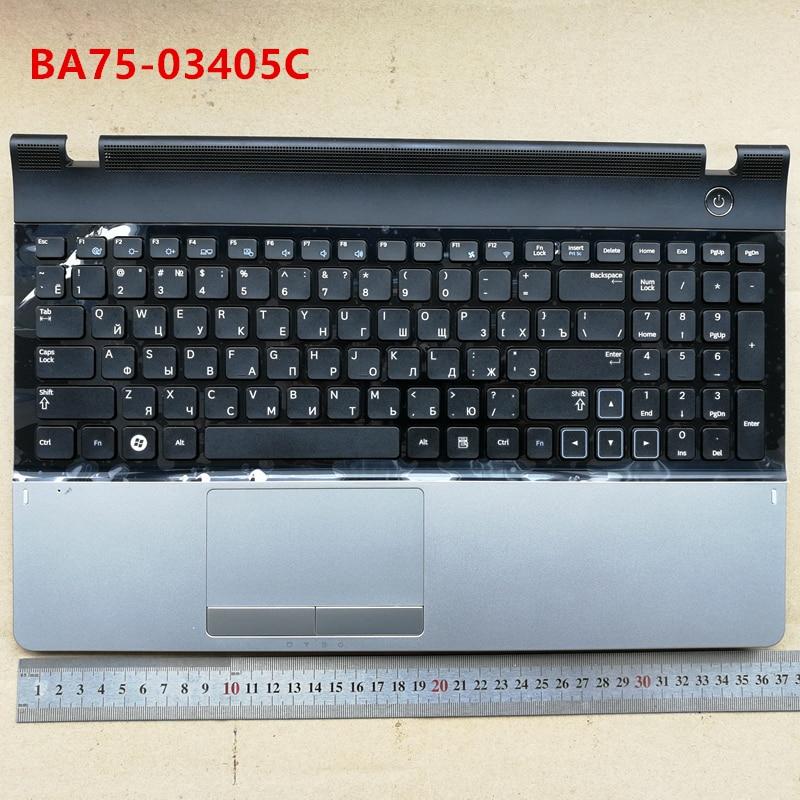 Russian new laptop keyboard with touchpad palmrest for Samsung NP 300E5A 300E5C 305E5A 301E5C NP300E5A RU BA75-03405C 15 new laptop keyboard for samsung 300e5a 305e5a np300e5a np300e5c ru russian layout