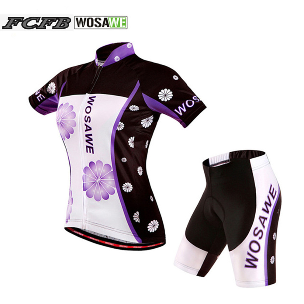 2017 new WOSAWE Cycling Jersey shorts Bike Men Clismo Bicycle Wear clothing MTB shirt +short pant roupa clismo +Arm sleeve