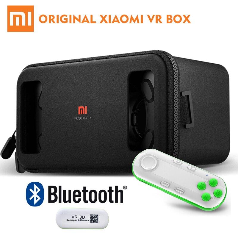 870c571d34fb Original Xiaomi Mi VR Glasses 3D VR Box Virtual Reality Cardboard Immersive  With Remote Controller For 4.7 5.7 Inches Smartphone-in 3D Glasses  Virtual  ...