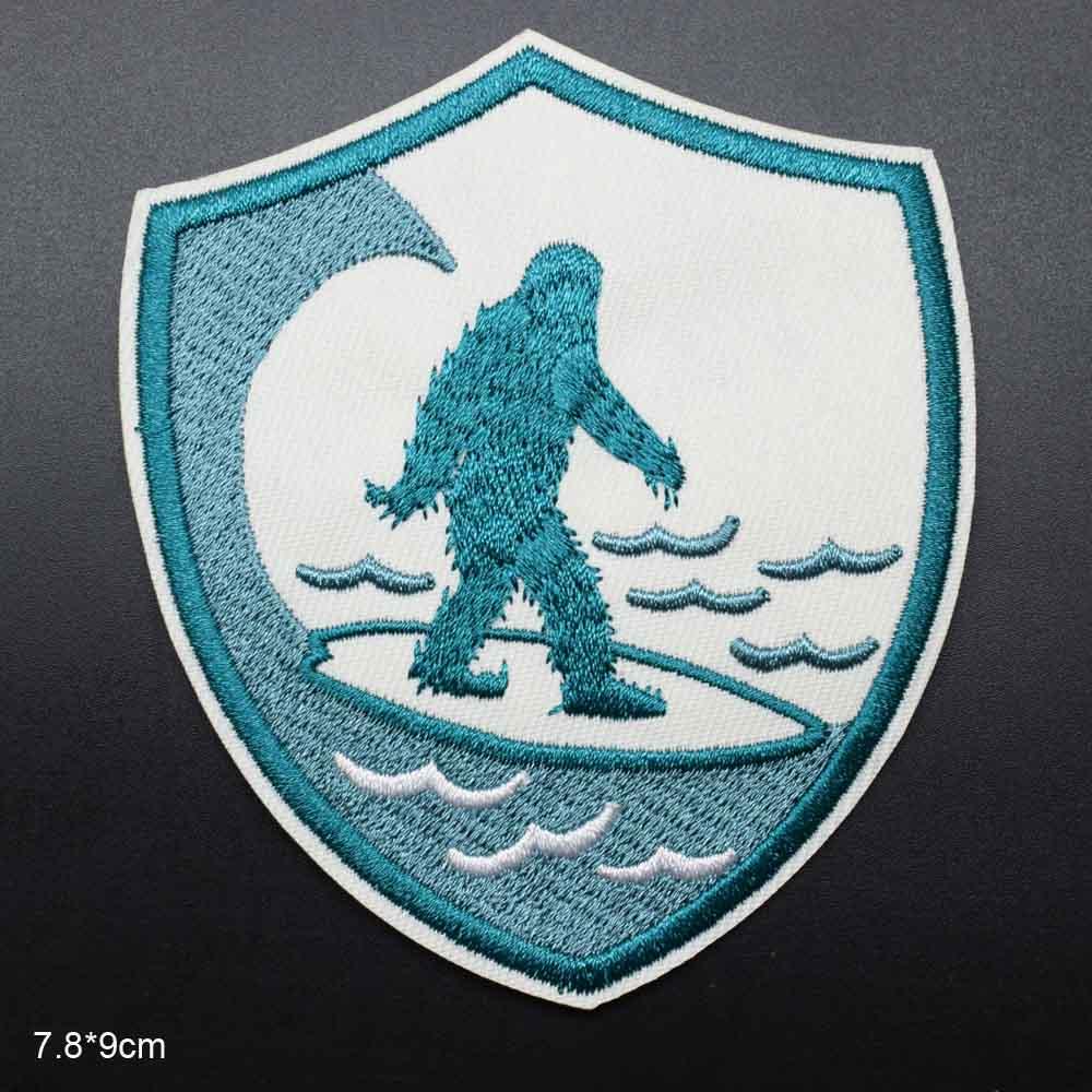 Большой Снеговик ноги железа на вышитые одежды патчи для одежды наклейки одежды оптом - Цвет: xingxing