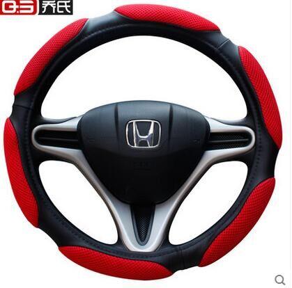 Cubierta del volante del automóvil tapicería de auto decoración - Accesorios de interior de coche - foto 4