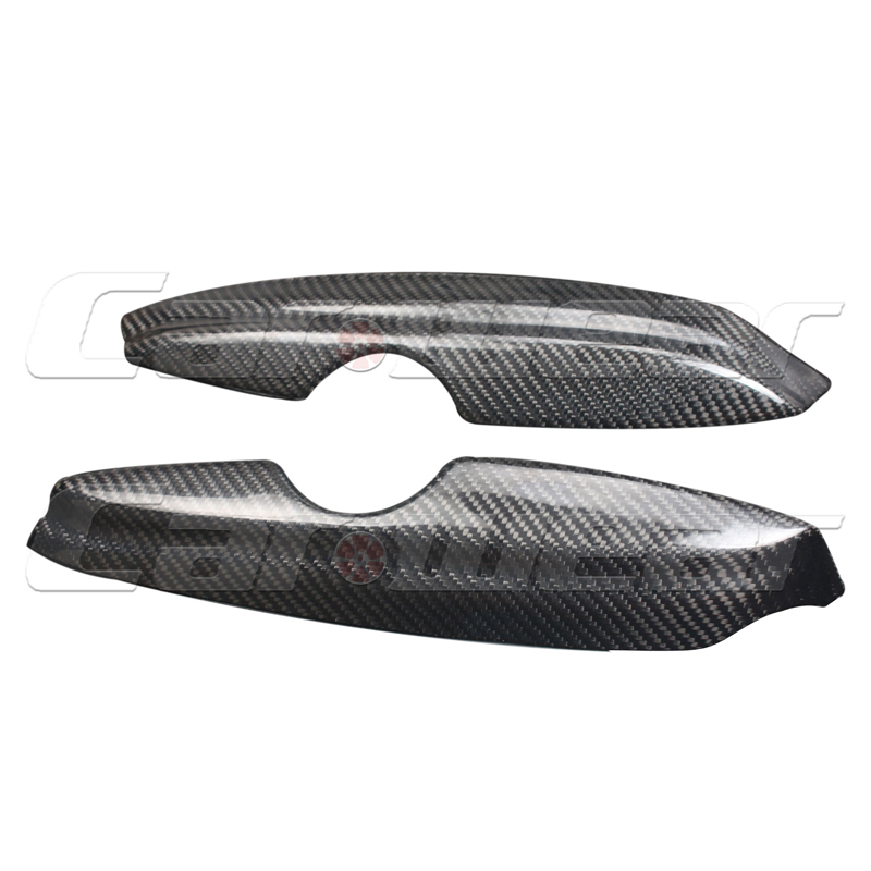 for Volkswagen VW Golf 4 MK4 IV Carbon Fiber Front Headlight Cover Eyelid Eyebrow 1997 2004