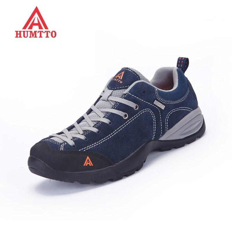 Nouvelles chaussures de randonnée en plein air femme camping sneakers hommes chasse d'hiver trekking outventure non-slip escalade sport En Caoutchouc Dentelle- up