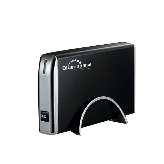 2016 Nueva 3.5 pulgadas USB2.0 SATA + IDE Hdd disco Duro caso caja soporta hasta 2 Tb