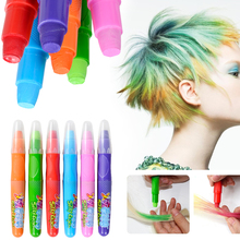 Set of 6 Crayon Styled Temporary Hair Dyes